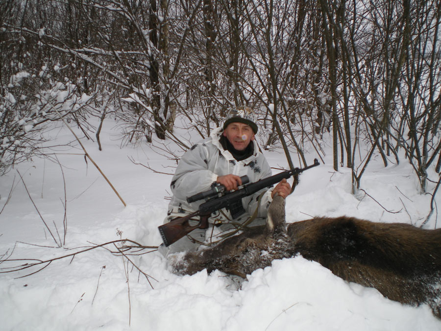 Охота на копытных.