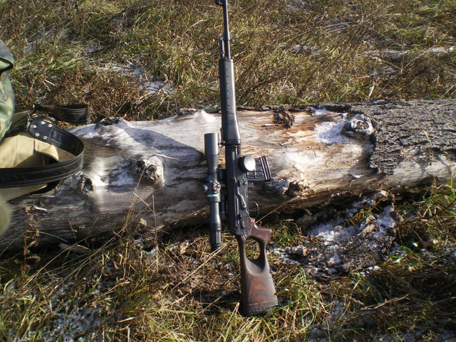 Загонная охота на лося.