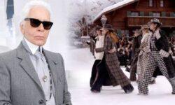 Chanel показала последнюю коллекцию Карла Лагерфельда