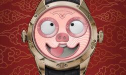 Часовщики выпустили часы с поросятами к китайскому новому году