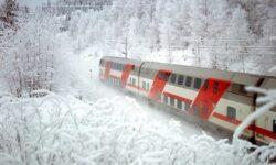 Куда путешествуют на поездах в январе 2021 года