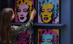 LEGO анонсировала новую линейку Art — пиксельные картинки из деталек - Wylsa.com