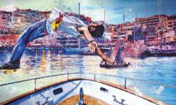 Red Bull Art of Motion: фриран на борту парусных яхт - Red Bull