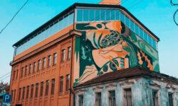 Точки притяжения смыслов, людей и энергии: участники Samara Ground-2020. Art Experience представили свои муралы - Телеканал СамараГис - samaragis.ru