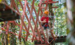 НаКурорте Красная Поляна появился новый верёвочный парк саттракционами